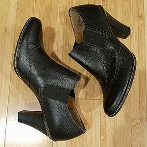 Merona Leather Booties Shoeties